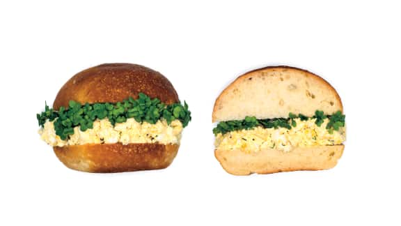 Sandwich à la tartinade de tofu