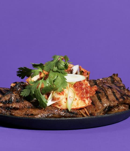 Galbis au kimchi