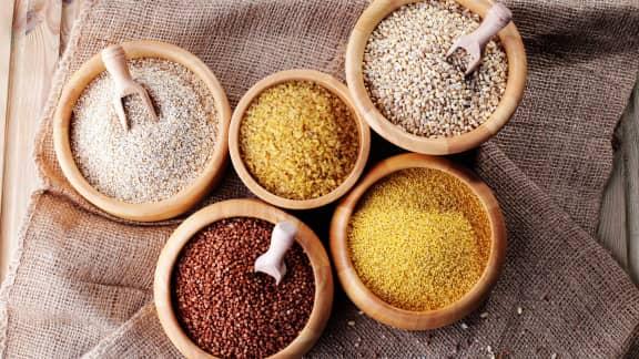 Les céréales et les pseudo-céréales