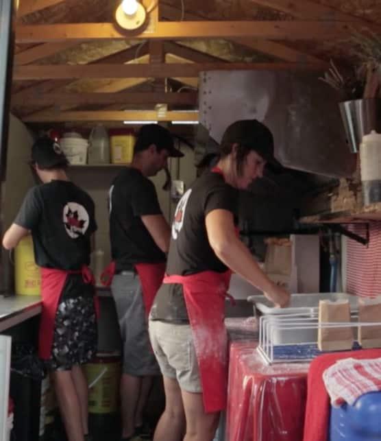 Food truck La Cabane à Crêpes