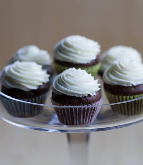 Mini-cupcakes au lait de soya