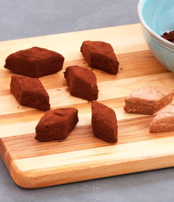 Divines confiseries fondantes au chocolat