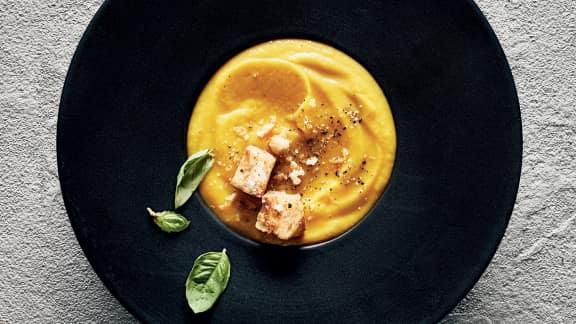 Soupe aux carottes et au panais