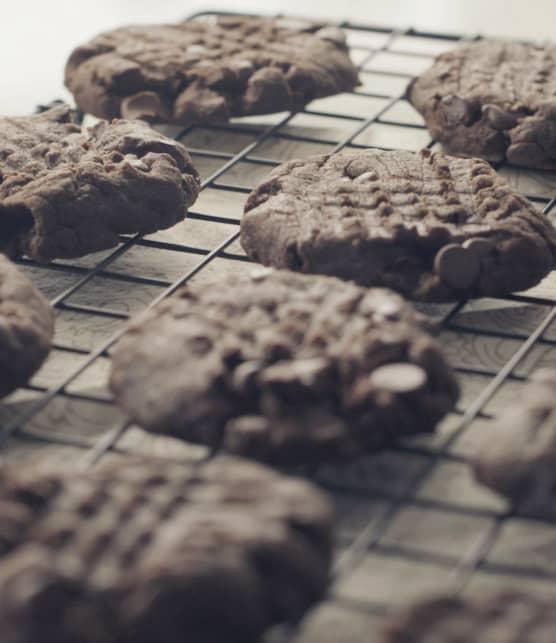 Biscuits au chocolat végétaliens