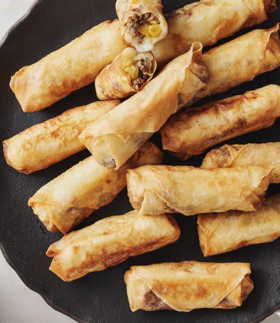 Rouleaux impériaux au pâté chinois