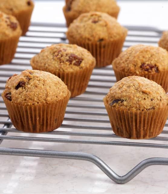 Mini-muffins équilibrés au son