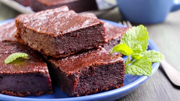 Brownies à la betterave et au chocolat