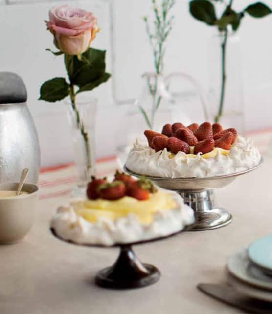 pavlova aux fraises (Barish Nikov)