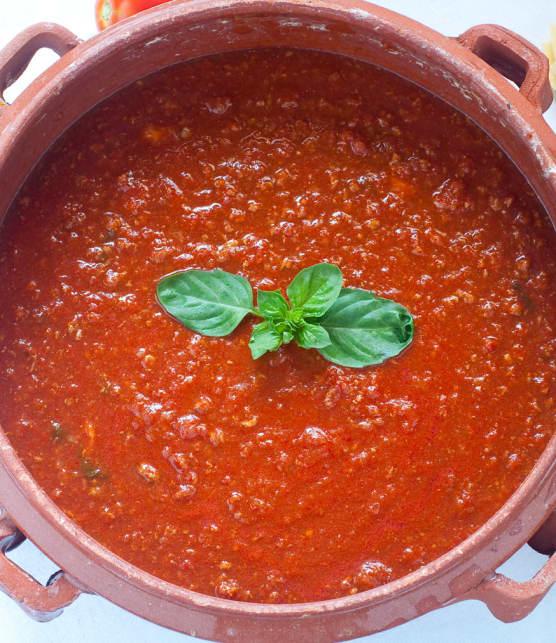 sauce piquante pour pâtes