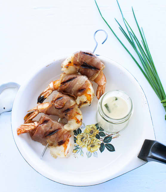 crevettes sambuca