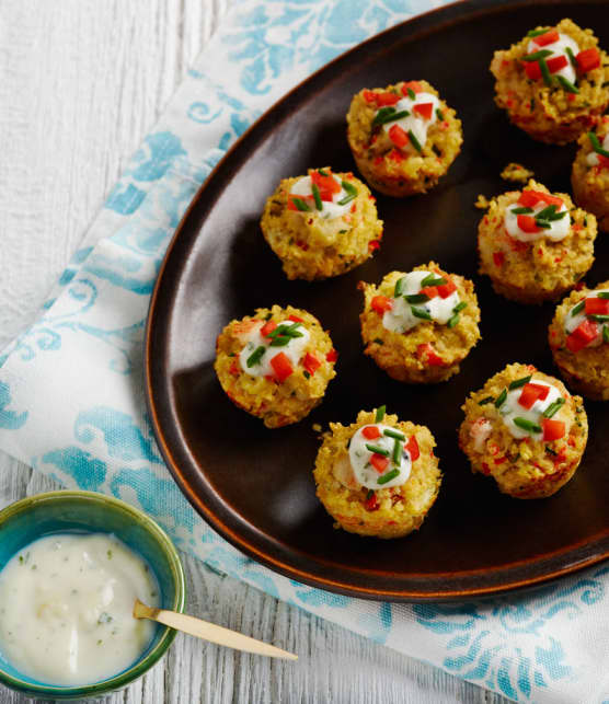 beignets de crabe au quinoa