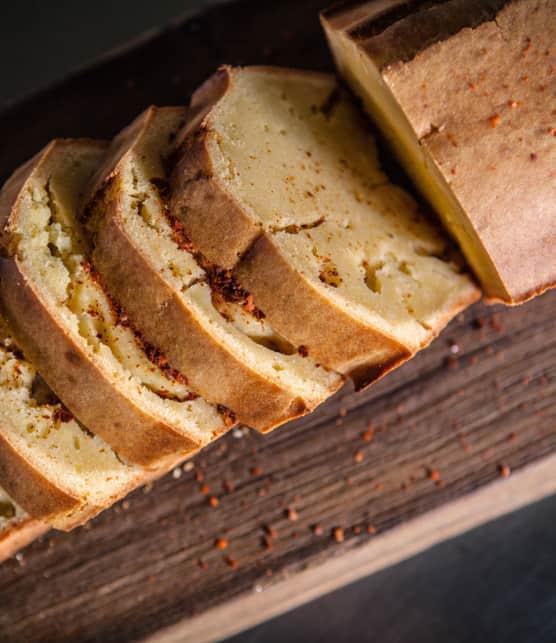 pain de maïs et chow-chow aux tomatillos