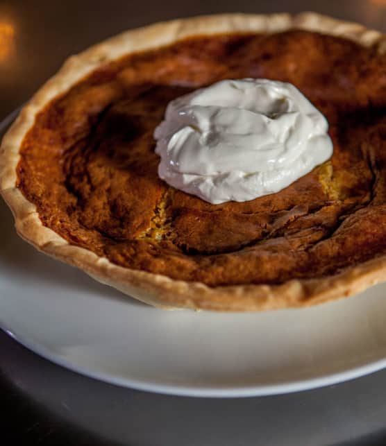 « Chess pie » au bourbon