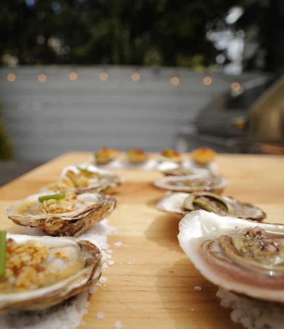 trilogie d'huîtres