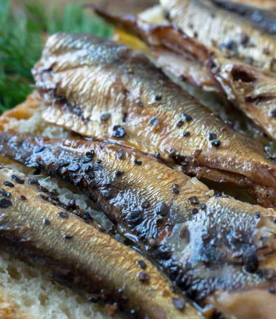 croquettes de poisson fumé et sauce au cream cheese