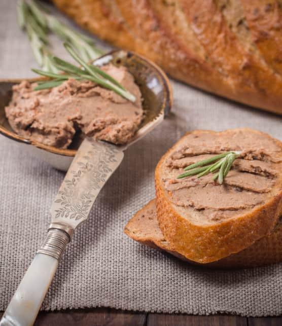 crostinis au pâté de foie de volaille