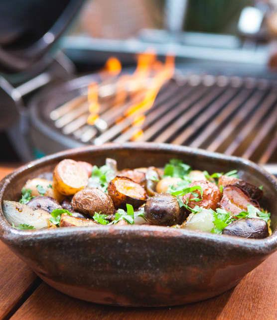TOP : 5 recettes de pommes de terre au BBQ de Steven Raichlen