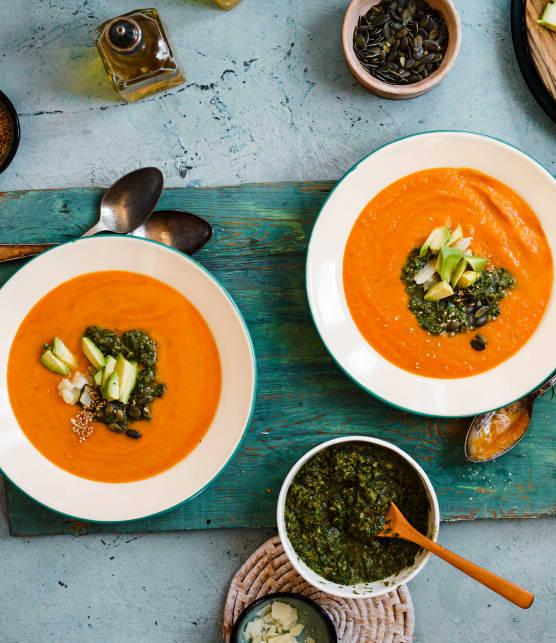 TOP : Nos recettes de potages aux carottes favorites