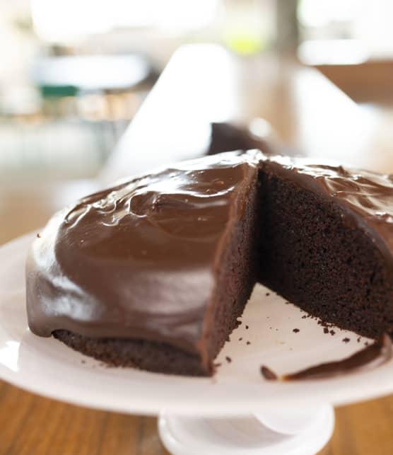 Gâteau au chocolat et à la bière