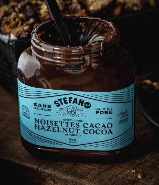 Stefano Faita lance sa propre tartinade au chocolat!