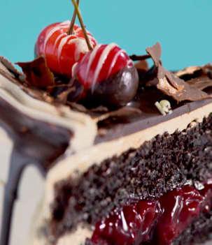 Gâteau - À la plage