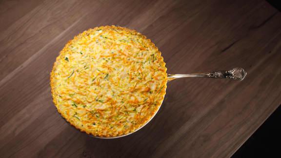 Quiche aux légumes en croûte de quinoa