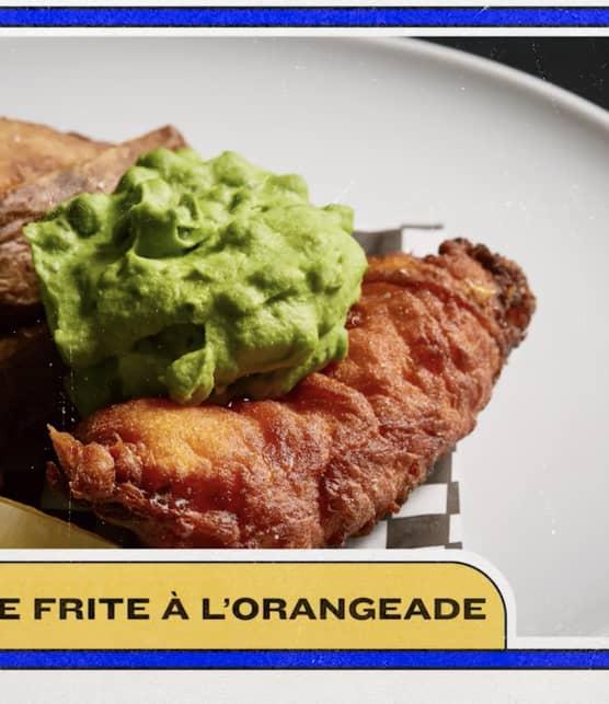 L'avant-match des foodies - Morue frite à l'orangeade