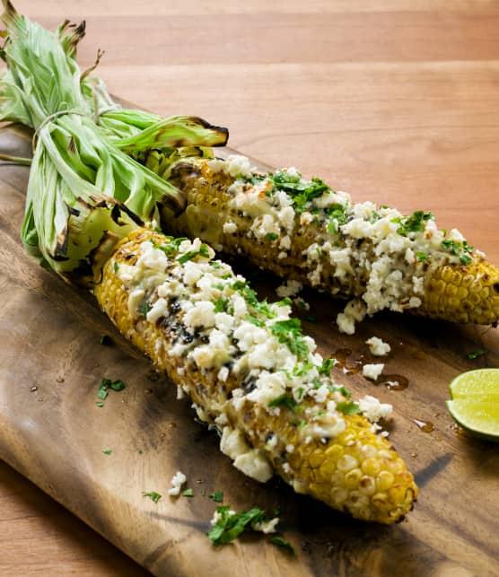 Maïs grillés à la mexicaine