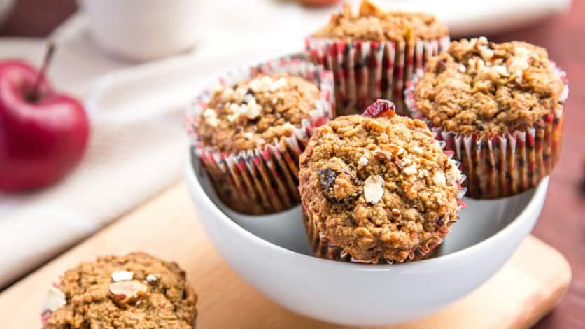 Muffins au goût de brioche