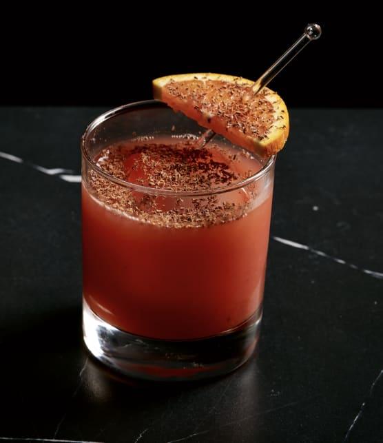 Cocktail orange-chocolat