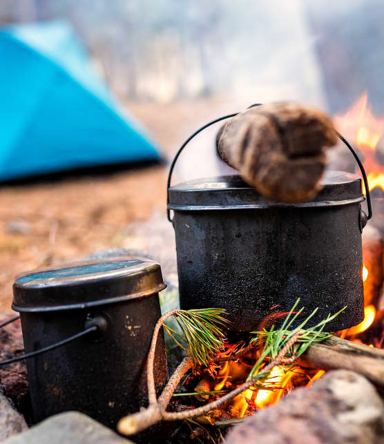 Camping gourmand