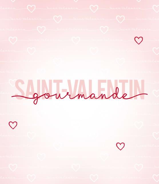 Saint-Valentin gourmande