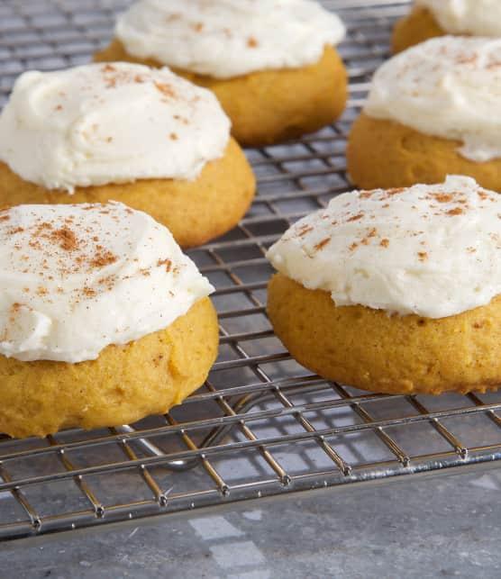 Gâteaux-biscuits aux épices à la citrouille