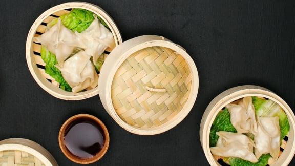 Dumplings rapides au porc