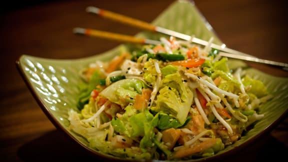 salade asiatique