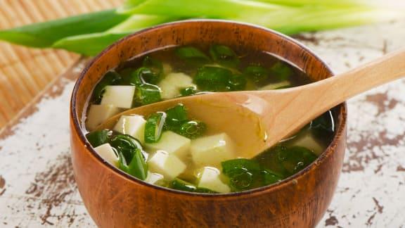 Recette de soupe miso foodlavie - Soupe miso ingredient ...
