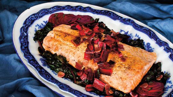 saumon aux betteraves