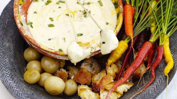 Fondue au fromage de Jamie Oliver