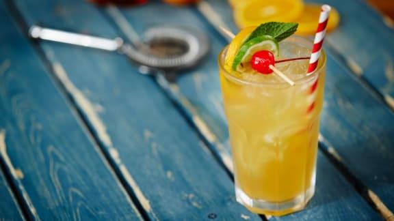 Bourbon limonade