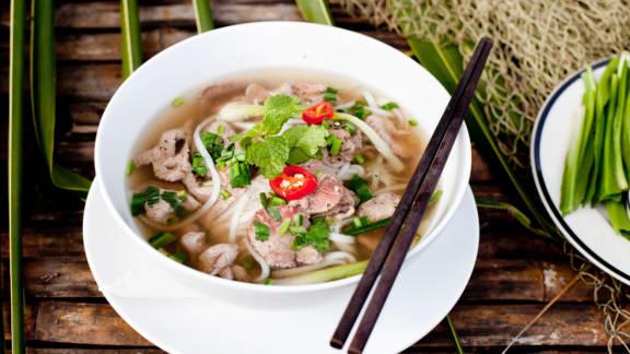 Soupe vietnamienne (pho)