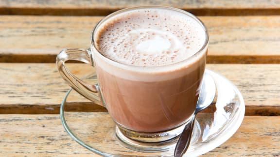 Chocolat chaud au lait d'amande de Janella
