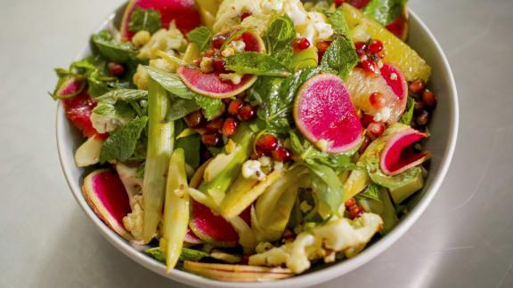salade de pomelo