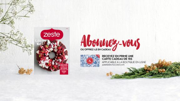Nouvelle édition du magazine Zeste !