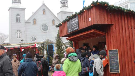 Marché du Noël d'antan de Cap-Santé