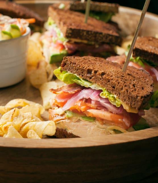 Recette de sandwich de match