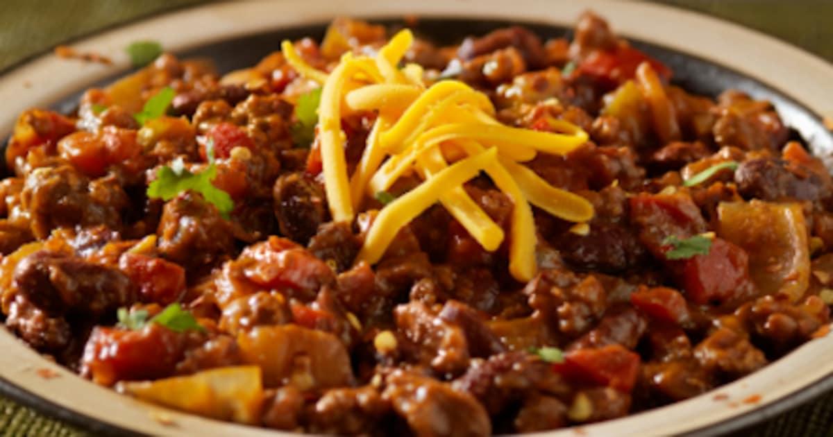 Recette chili con carne glouton - Recette chili cone carne thermomix ...