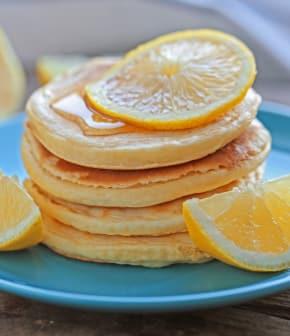 Crêpes au babeurre et au citron