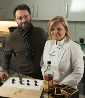 Accorder chocolats et alcool avec Joane L'Heureux et Guénaël Revel