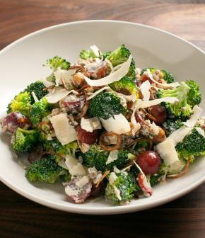 Recette de salade gourmande de brocoli