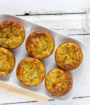 Comment faire des muffins aux courgettes